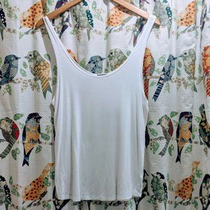 Joah Brown Ideal Tank in White